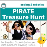 Coding with Robots - Pirate Treasure Hunt  for Bee-Bot, Code & Go Mouse, Dash
