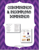 Codominance & Incomplete Dominance