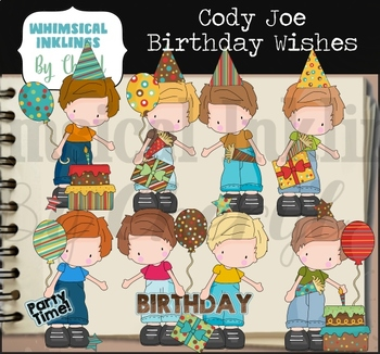 Cody Joe Birthday Wishes Clipart Collection