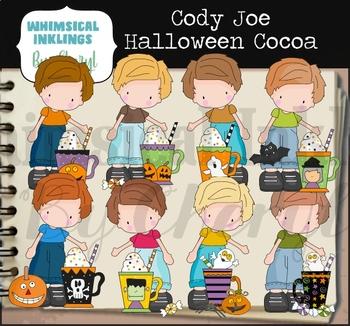 Cody Joe Halloween Cocoa Clipart Collection