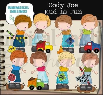 Cody Joe Mud Is Fun Clipart Collection