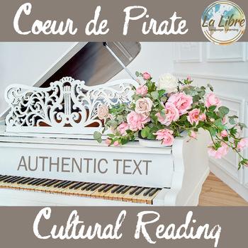 Coeur de Pirate Authentic Text Cultural Reading