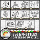 Coffee 1 SVG Design Bundle
