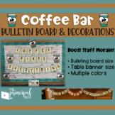 Coffee Bar Decorations & Set up