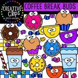 Coffee Break Buds {Creative Clips Clipart}