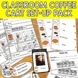 Coffee Cart Set Up Life Skills in the Classroom | Editable Coffee Shop