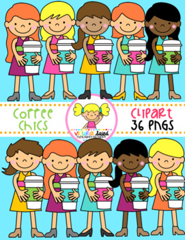 Coffee Chics Clipart