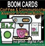 Coffee & Communicate -  BOOM Cards - Alveolar Fricatives B
