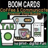 Coffee & Communicate -  BOOM Cards - Alveolar Stops Bundle