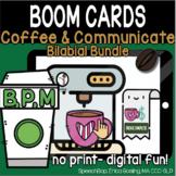 Coffee & Communicate -  BOOM Cards - Bilabial Bundle (B, P, M)