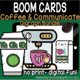 Coffee & Communicate -  BOOM Cards - Digraph Bundle (TH, CH, SH)