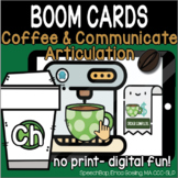 Coffee & Communicate -  BOOM Cards Distance Learning - CH
