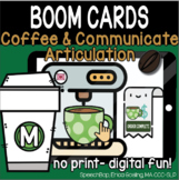 Coffee & Communicate -  BOOM Cards Distance Learning - M (