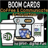 Coffee & Communicate -  BOOM Cards Distance Learning - SH