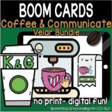 Coffee & Communicate -  BOOM Cards - Velar Bundle (K & G)