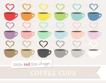 Coffee Cup Clipart; Mug