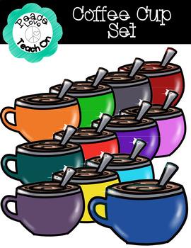 Coffee Cup Set by Peace Love Teach On