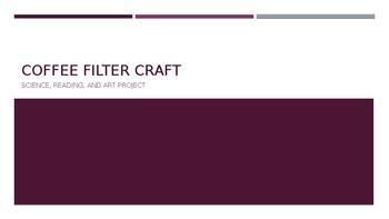Coffee Filter Craft