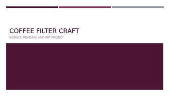 Coffee Filter Craft