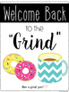 Coffee Inspired Back to School Labels