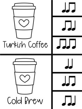 Coffee Latte Clip It Music Center