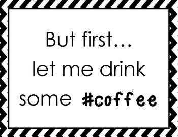 Coffee Lovers' Poster