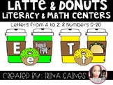 Coffee Themed Literacy and Math Centers