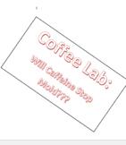 Coffee+Mold Lab: Will it Grow?