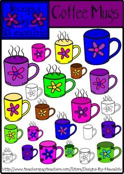 Coffee Mugs {Designs by Nawailohi}