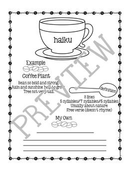 Coffee Poetry Notes and Presentations