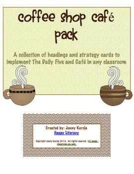 Coffee Shop Daily Cafe Pack