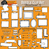 Assorted Doodle Clip Art Collection #1