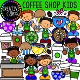 Coffee Shop Kids {Creative Clips Clipart}