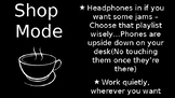 Coffee Shop Mode
