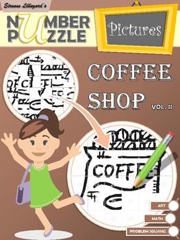 Coffee Shop Number Puzzle Pictures Volume II