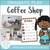 Coffee Shop Dramatic Play Set