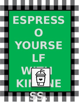 Coffee Shop Themed Posters