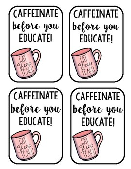 Coffee Tags