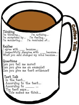 Coffee Talk: Amazing Discussion about Text During Reading Workstations