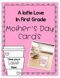 Coffee, Tea, Latte Mother's Day Card Writing Craft
