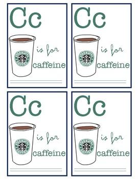 Coffee/Tea Teacher Appreciation Tags