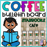 Coffee Themed Bulletin Board Set - Editable