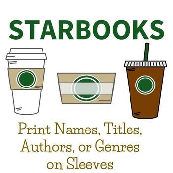 "Coffee Themed Bulletin Board ""Starbooks"" STARBUCKS LIKE"