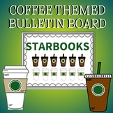 "Coffee Themed Bulletin Board ""Starbooks"""