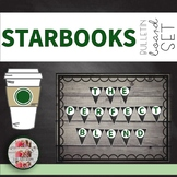 """Coffee Themed Pennant Banner """"WE ARE THE PERFECT BLEND"""" Starbooks STARBUCKS"""
