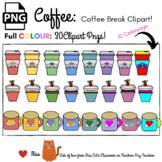 FREE Coffee Time  - Coffee Cup - Cupcake -  Coffee Break -