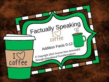 Coffee Unit (Literacy and Math Activities)