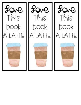 Coffee and Donuts Bookmarks