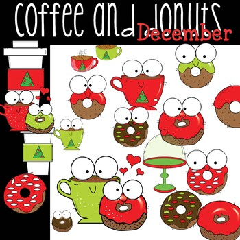 Coffee and Donuts | December Freebie