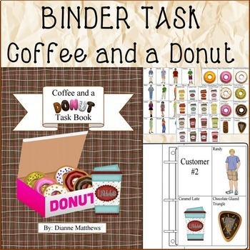 BINDER TASK Coffee and a Donut